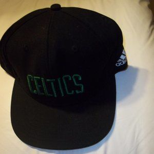 new Adidas Boston Celtics cotton snapback hat